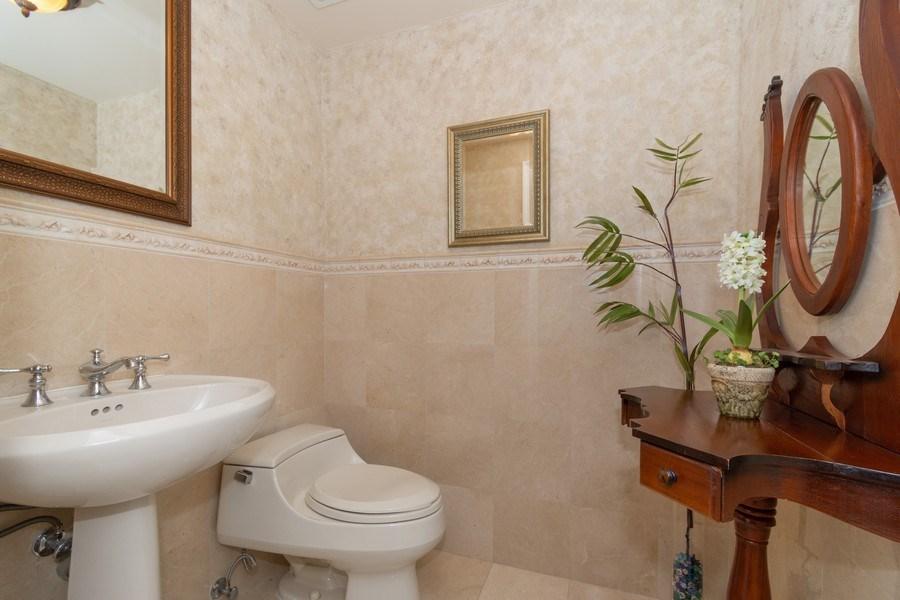 Real Estate Photography - 6051 N Ocean Drive, Unit 603, Hollywood, FL, 33019 - Half Bath