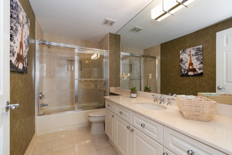Real Estate Photography - 6051 N Ocean Drive, Unit 603, Hollywood, FL, 33019 - Bathroom