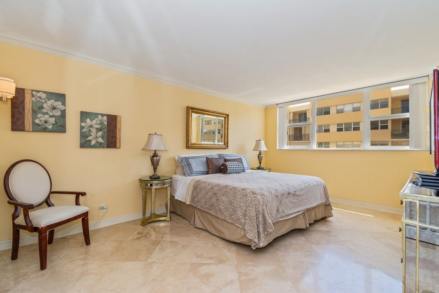 Real Estate Photography - 1238 Hillsboro Mile, Unit 307, Hillsboro Beach, FL, 33062 - Master Bedroom