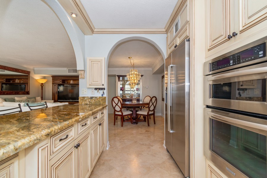 Real Estate Photography - 1238 Hillsboro Mile, Unit 307, Hillsboro Beach, FL, 33062 - Kitchen