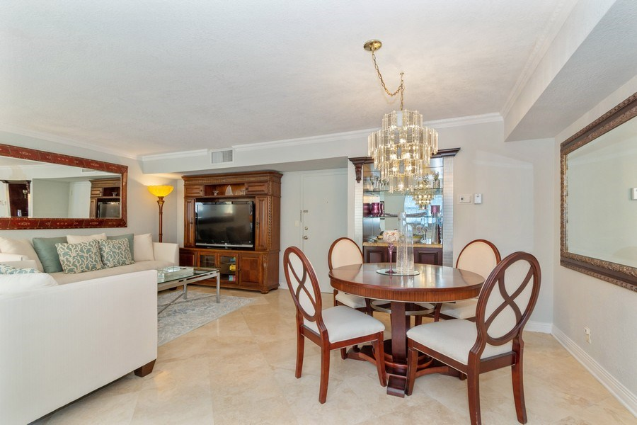 Real Estate Photography - 1238 Hillsboro Mile, Unit 307, Hillsboro Beach, FL, 33062 - Dining Room