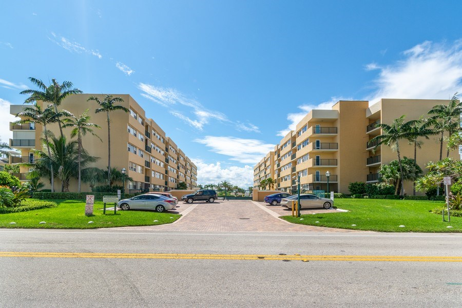 Real Estate Photography - 1238 Hillsboro Mile, Unit 307, Hillsboro Beach, FL, 33062 - Front View
