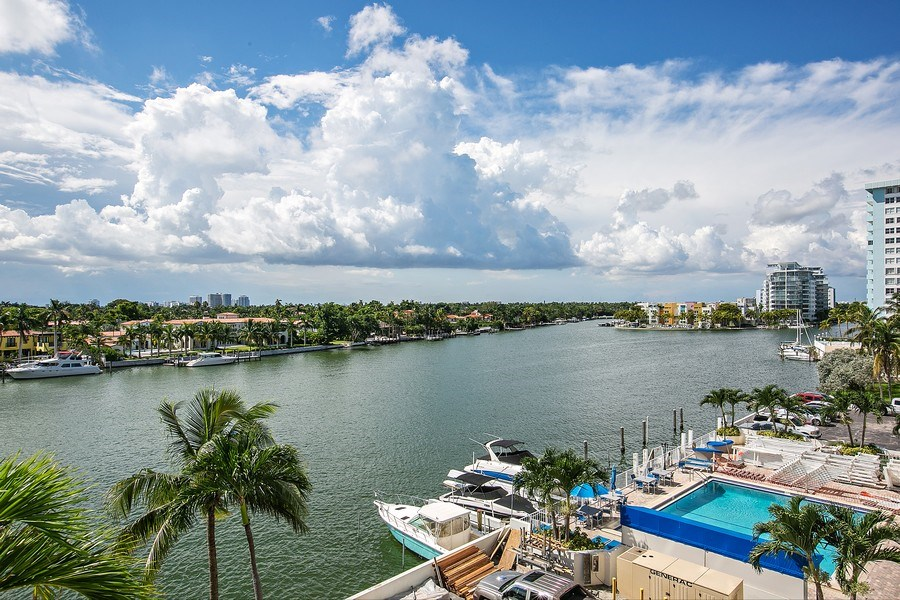 Real Estate Photography - 5700 Collins Ave, Unit 5L, Miami Beach, FL, 33140 - View