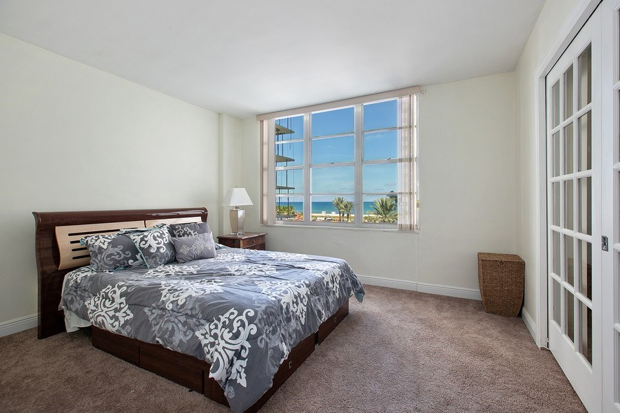 Real Estate Photography - 5700 Collins Ave, Unit 5L, Miami Beach, FL, 33140 - 2nd Bedroom