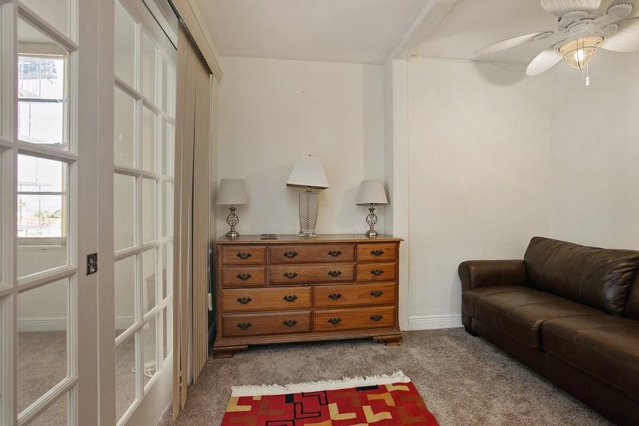 Real Estate Photography - 5700 Collins Ave, Unit 5L, Miami Beach, FL, 33140 - Den