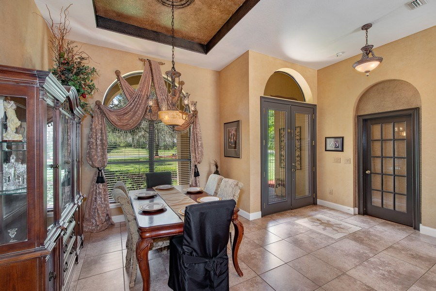 Real Estate Photography - 779 Mills Estate Pl, Chuluota, FL, 32766 - Dining Room