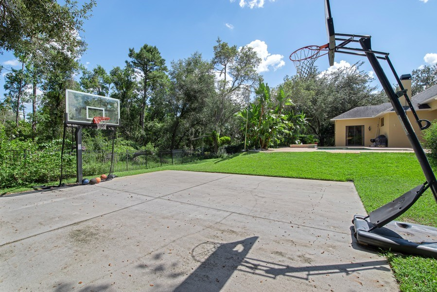 Real Estate Photography - 779 Mills Estate Pl, Chuluota, FL, 32766 - Basketball Court