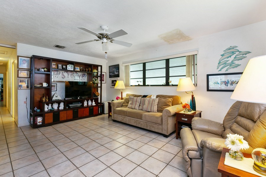 Real Estate Photography - 13800 SW 78th Pl, Miami, FL, 33158 - Living Room