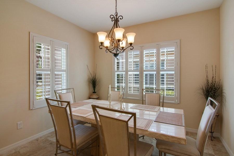 Real Estate Photography - 5340 Fairfield Blvd, Bradenton, FL, 34203 - Dining Room