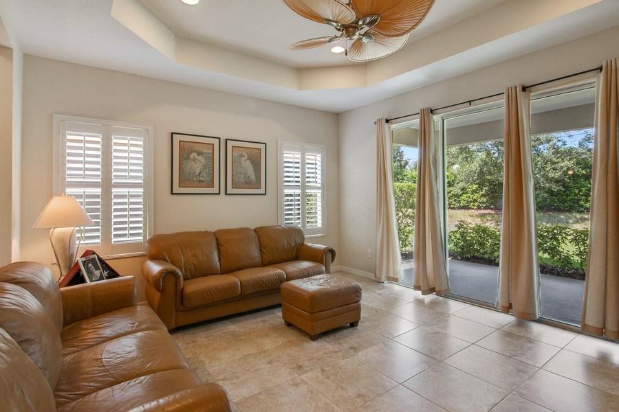 Real Estate Photography - 5340 Fairfield Blvd, Bradenton, FL, 34203 - Family Room