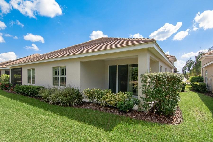 Real Estate Photography - 5340 Fairfield Blvd, Bradenton, FL, 34203 - Rear View