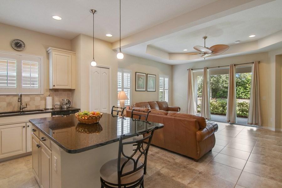 Real Estate Photography - 5340 Fairfield Blvd, Bradenton, FL, 34203 - Family Room / Kitchen