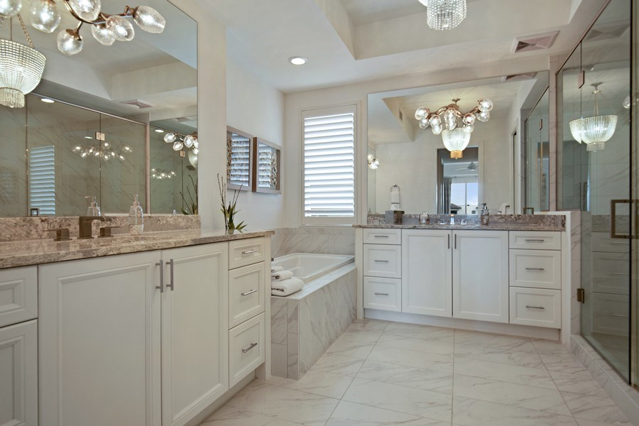 Real Estate Photography - 1035 3rd Ave S, #510, naples, FL, 34102 - Master Bathroom
