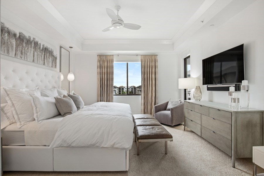 Real Estate Photography - 1035 3rd Ave S, #510, naples, FL, 34102 - Master Bedroom