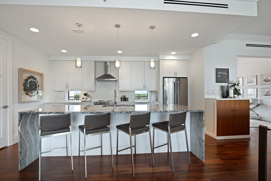 Real Estate Photography - 1035 3rd Ave S, #510, naples, FL, 34102 - Kitchen