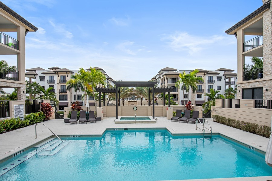 Real Estate Photography - 1035 3rd Ave S, #510, naples, FL, 34102 - Pool