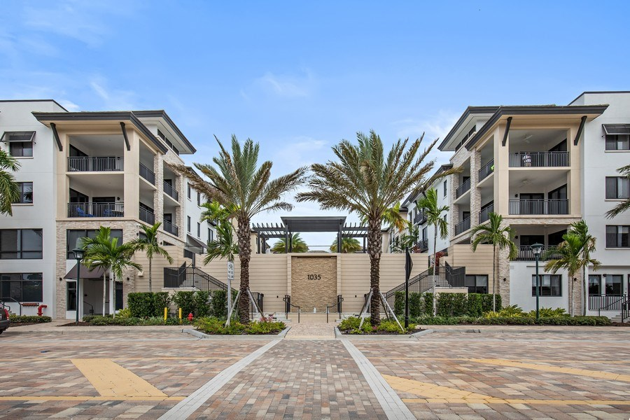 Real Estate Photography - 1035 3rd Ave S, #510, naples, FL, 34102 - Front View