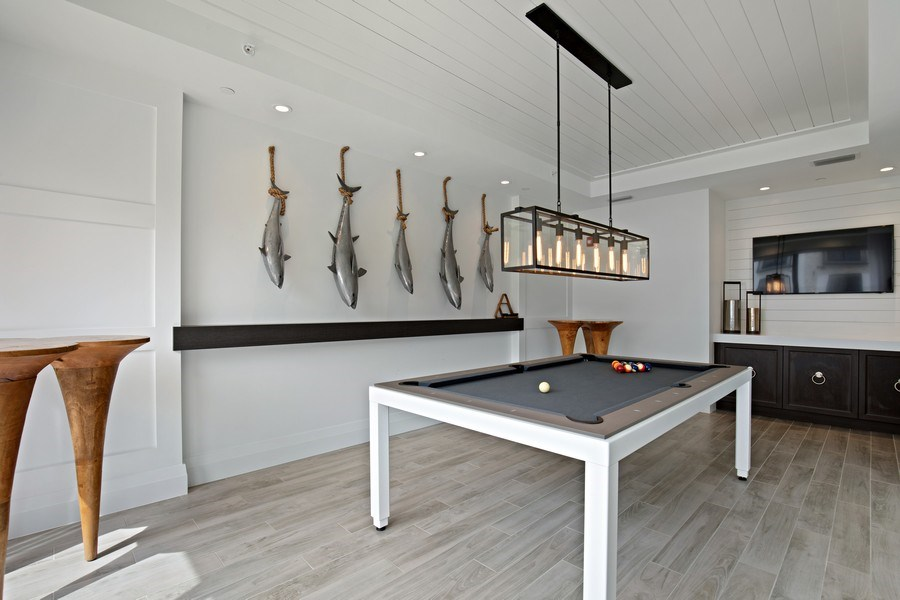 Real Estate Photography - 1035 3rd Ave S, #510, naples, FL, 34102 - Pool Room