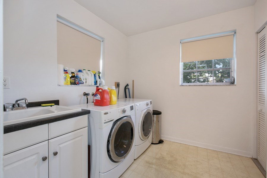 Real Estate Photography - 17420 SW 86th Ave, Palmetto Bay, FL, 33157 - Laundry Room
