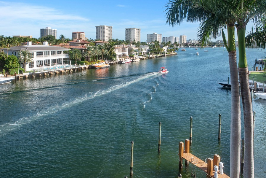 Real Estate Photography - 100 SE 5th Ave, Ph 1, Boca Raton, FL, 33432 - Intracoastal View