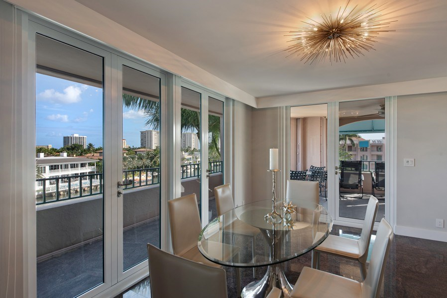 Real Estate Photography - 100 SE 5th Ave, Ph 1, Boca Raton, FL, 33432 - Dining Room