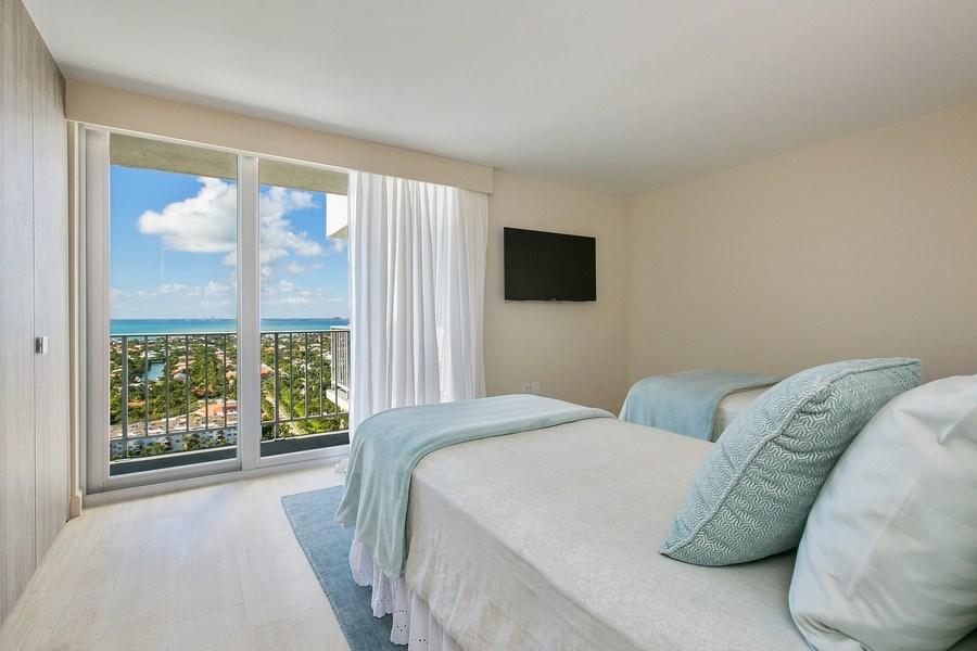 Real Estate Photography - 881 Ocean Dr, Penthouse 27E, Key Biscayne, FL, 33149 - 2nd Bedroom