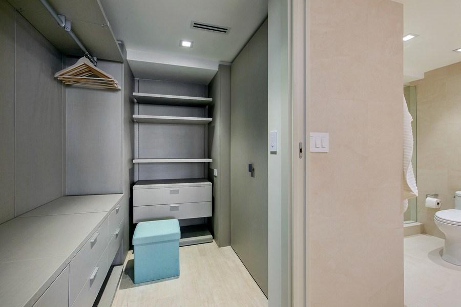 Real Estate Photography - 881 Ocean Dr, Penthouse 27E, Key Biscayne, FL, 33149 - Master Bedroom Closet