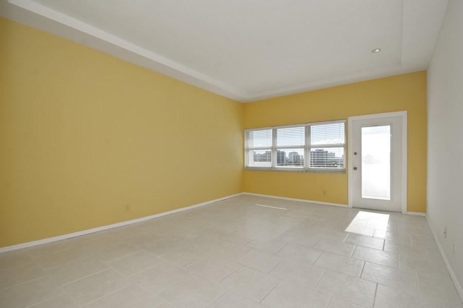 Real Estate Photography - 401 Golden Isles Dr., Apt. 1110, Hallandale, FL, 33009 - Living Room
