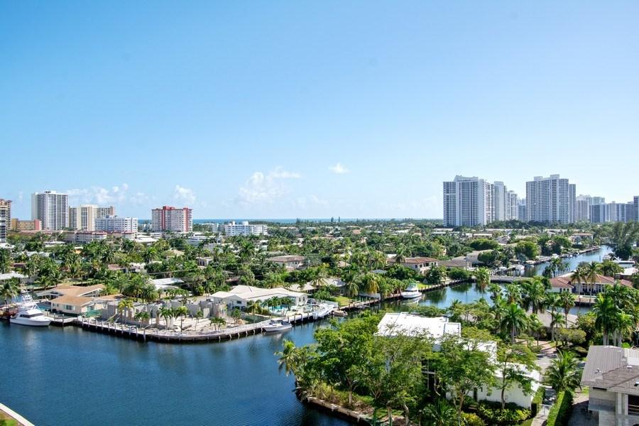 Real Estate Photography - 401 Golden Isles Dr., Apt. 1110, Hallandale, FL, 33009 - View