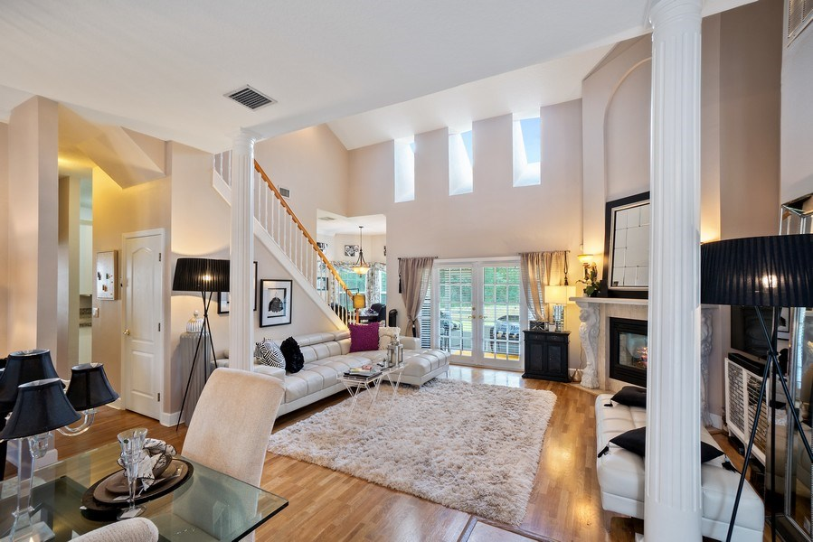 Real Estate Photography - 10445 Canary Isle Dr, Tampa, FL, 33647 - Living Room