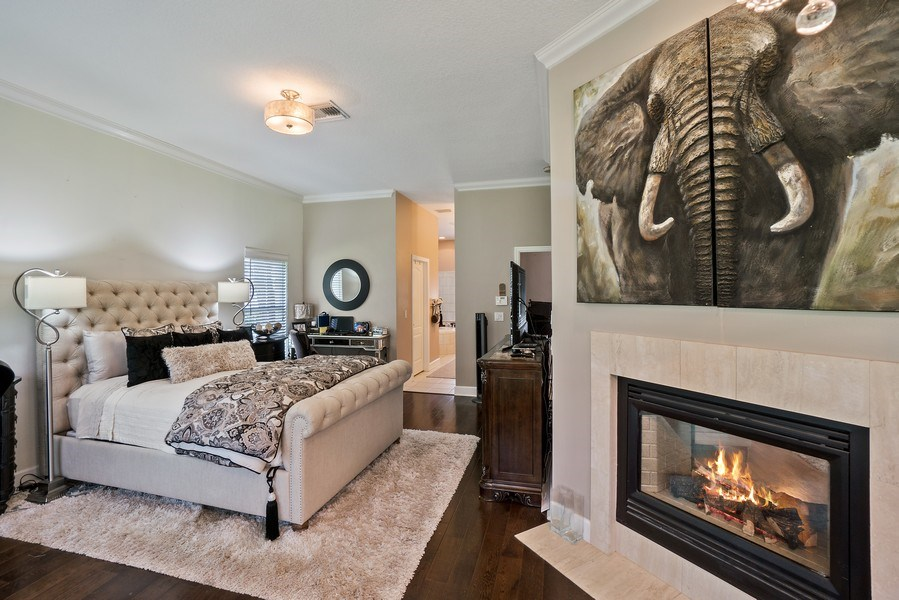 Real Estate Photography - 10445 Canary Isle Dr, Tampa, FL, 33647 - Master Bedroom