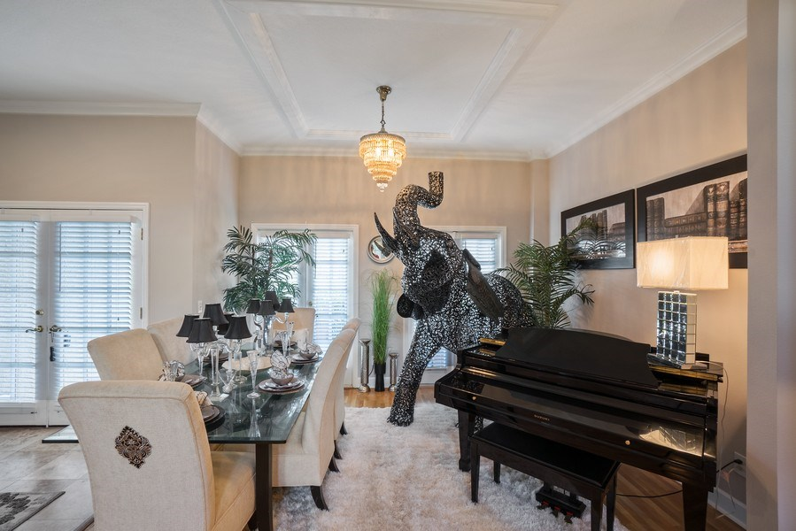Real Estate Photography - 10445 Canary Isle Dr, Tampa, FL, 33647 - Dining Room