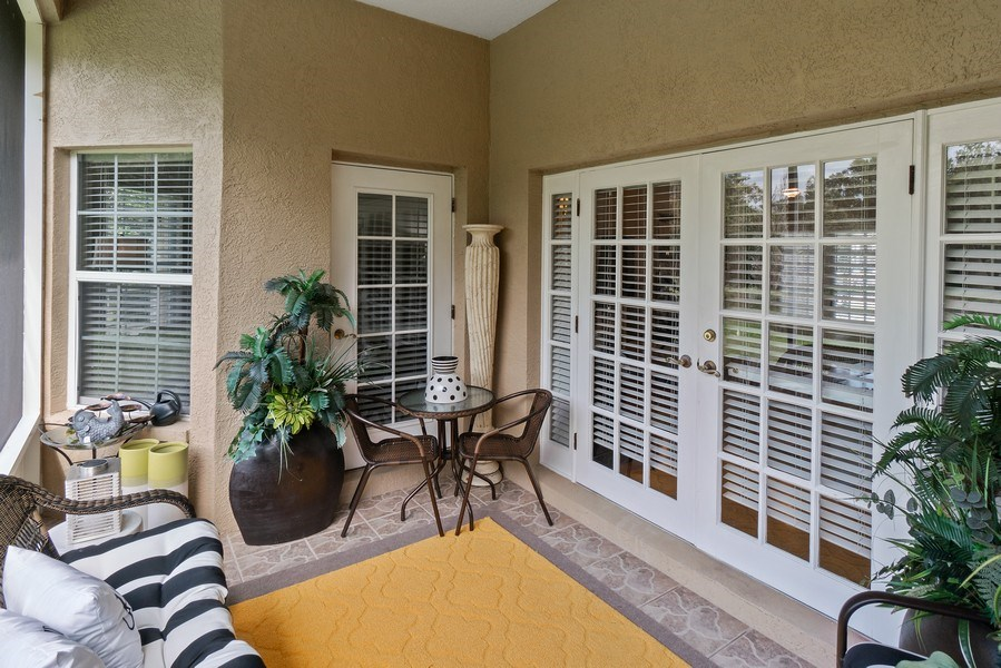 Real Estate Photography - 10445 Canary Isle Dr, Tampa, FL, 33647 - Lanai
