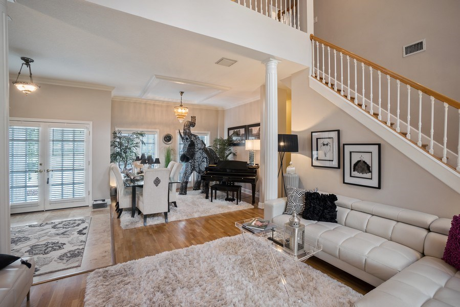 Real Estate Photography - 10445 Canary Isle Dr, Tampa, FL, 33647 - Living Room / Dining Room
