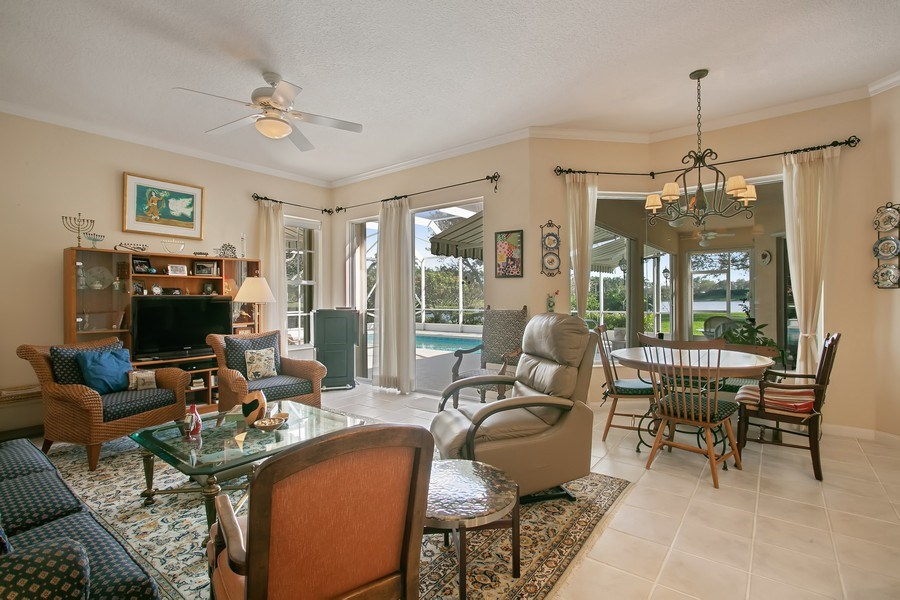 Real Estate Photography - 2172 Vero Beach Lane, West Palm Beach, FL, 33411 - Family Room