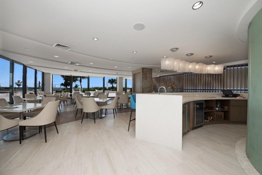 Real Estate Photography - 1500 S Ocean Blvd, Unit S-804, Boca Raton, FL, 33432 - Restaurant