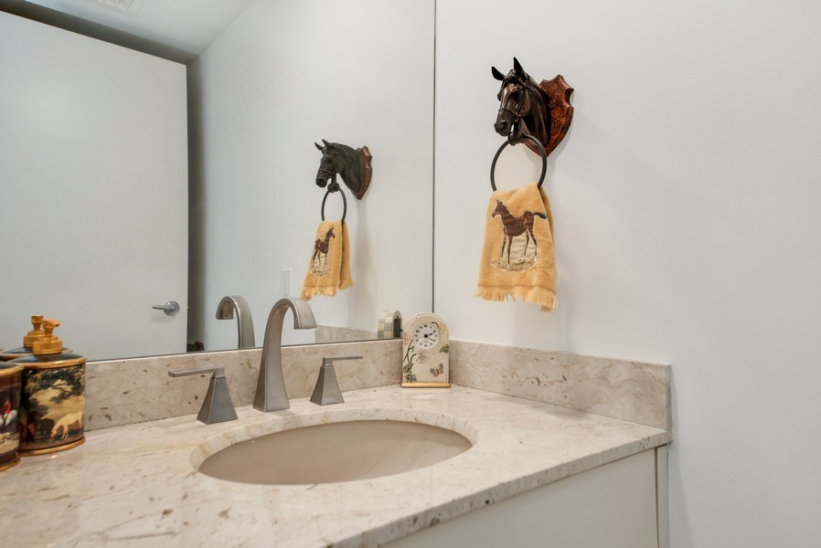 Real Estate Photography - 1500 S Ocean Blvd, Unit S-804, Boca Raton, FL, 33432 - Powder Room