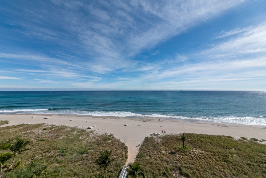 Real Estate Photography - 1500 S Ocean Blvd, Unit S-804, Boca Raton, FL, 33432 - Ocean View