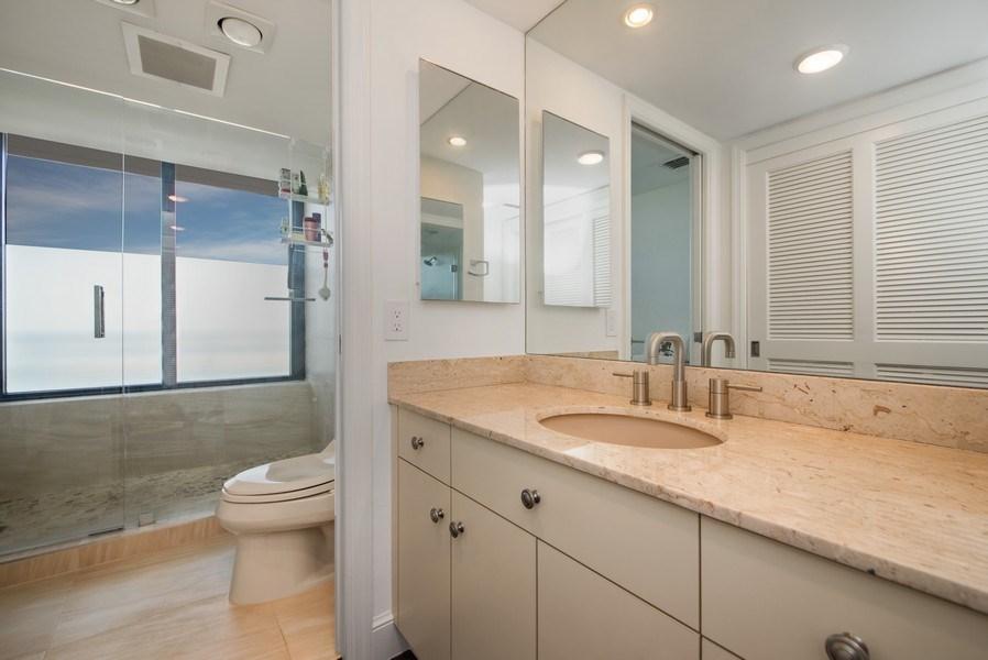 Real Estate Photography - 1500 S Ocean Blvd, Unit S-804, Boca Raton, FL, 33432 - Bathroom