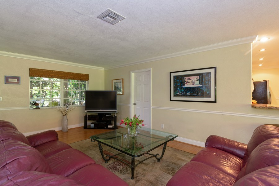 Real Estate Photography - 3031 Riverland Rd, Fort Lauderdale, FL, 33312 - Living Room
