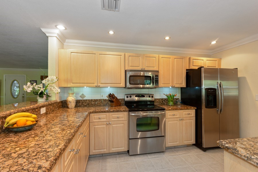 Real Estate Photography - 3031 Riverland Rd, Fort Lauderdale, FL, 33312 - Kitchen