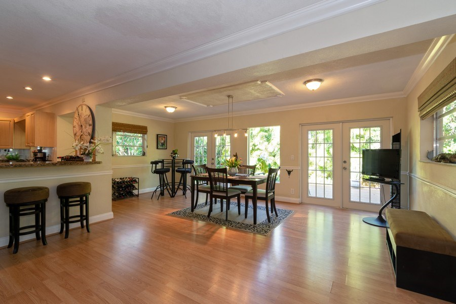 Real Estate Photography - 3031 Riverland Rd, Fort Lauderdale, FL, 33312 - Dining Room