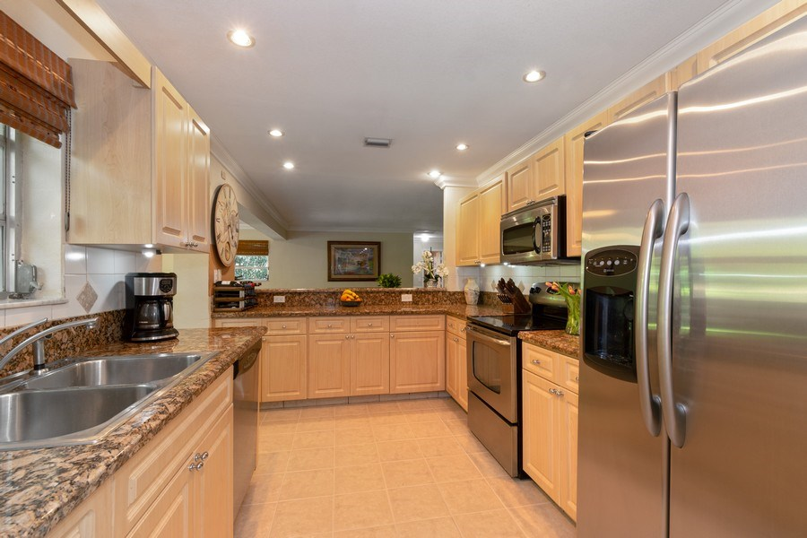 Real Estate Photography - 3031 Riverland Rd, Fort Lauderdale, FL, 33312 - Kitchen