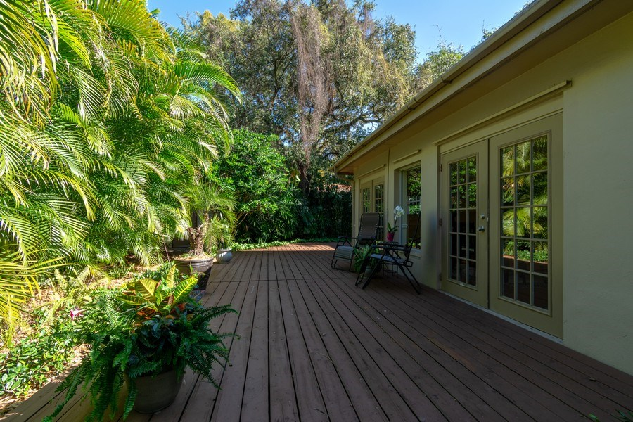 Real Estate Photography - 3031 Riverland Rd, Fort Lauderdale, FL, 33312 - Wrap around Patio-Deck