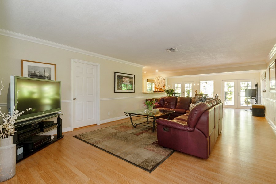 Real Estate Photography - 3031 Riverland Rd, Fort Lauderdale, FL, 33312 - Living Room / Dining Room