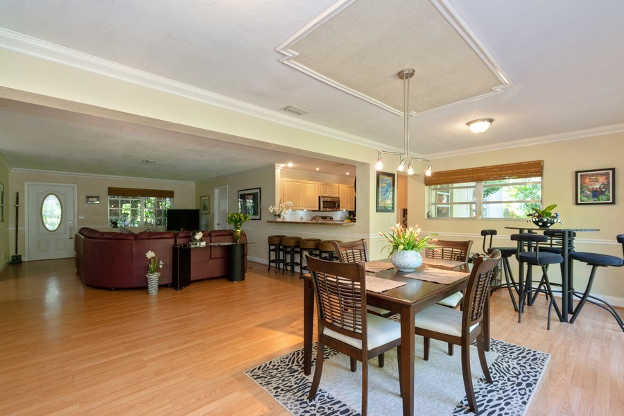 Real Estate Photography - 3031 Riverland Rd, Fort Lauderdale, FL, 33312 - Living Room/Dining Room