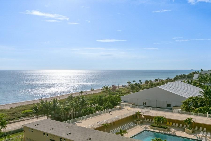 Real Estate Photography - 4775 Collins Ave, Unit 703, MIami Beach, FL, 33140 - View