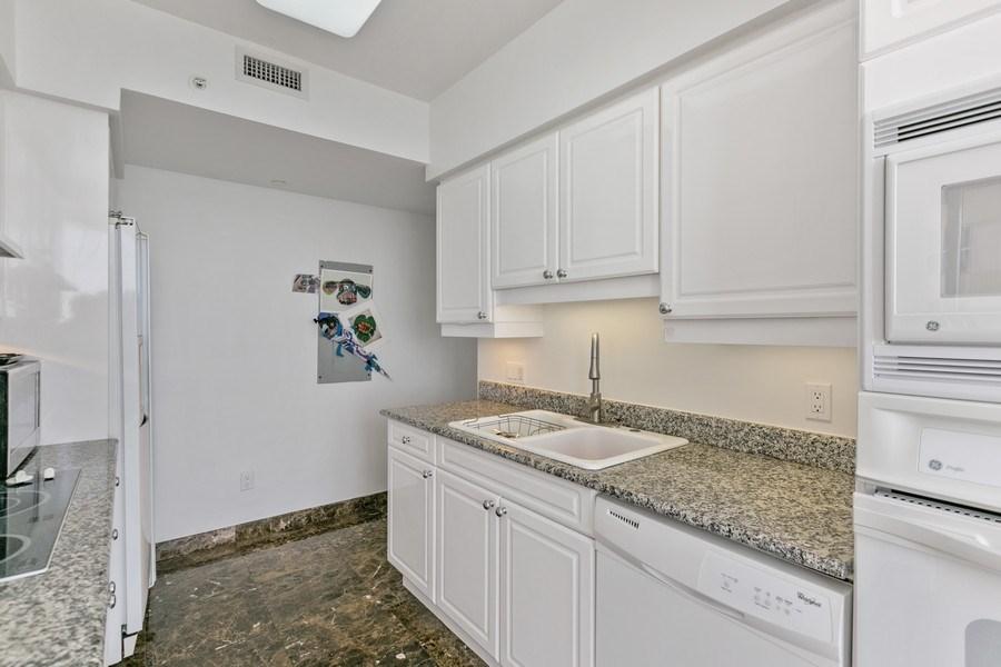 Real Estate Photography - 4775 Collins Ave, Unit 703, MIami Beach, FL, 33140 - Kitchen