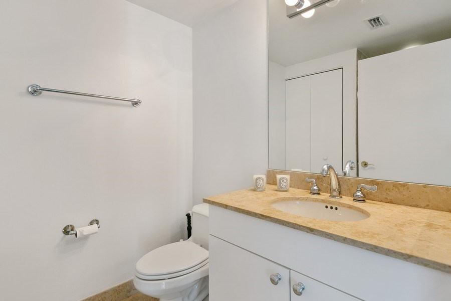 Real Estate Photography - 4775 Collins Ave, Unit 703, MIami Beach, FL, 33140 - Bathroom