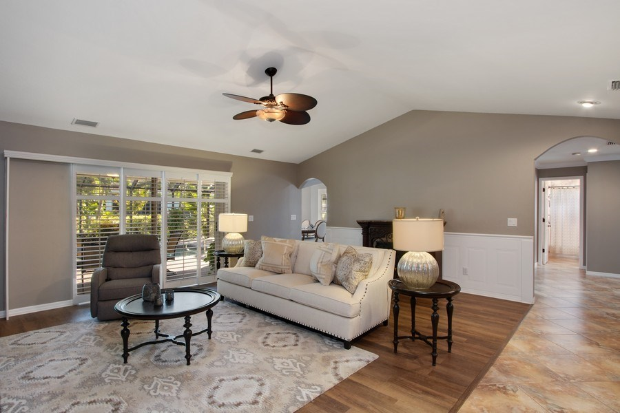 Real Estate Photography - 246 SW 39th St, Cape Coral, FL, 33914 - Living Room
